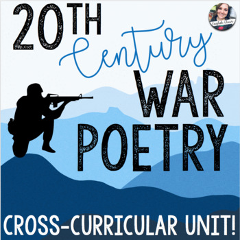 20th Century War Poetry Unit Materials