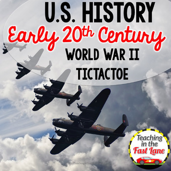 20th Century: World War II TicTacToe {US History}