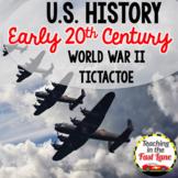 20th Century: World War II TicTacToe {US History}