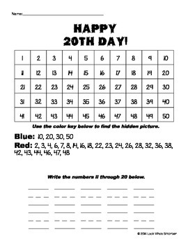 20th Day of School