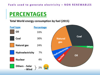 1X) [ELECTRICITY] Fuels Used To Generate Electricity (Non-Renewables)
