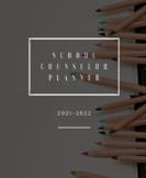 21-22 Complete School Counselor Planner (Minimalist)