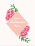 21-22 Complete School Counselor Planner (Pink Floral)