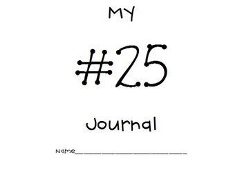 21-30 Common Core Number Journals