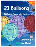 21 Balloons Book Club (Dice Discussions, Writing Responses, Vocabulary)