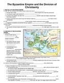 WORLD UNIT 4 LESSON 1 Byzantine Empire & Division of Chris