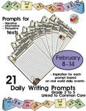 21 Daily Themed Writing Prompts - Feb 8th-14th