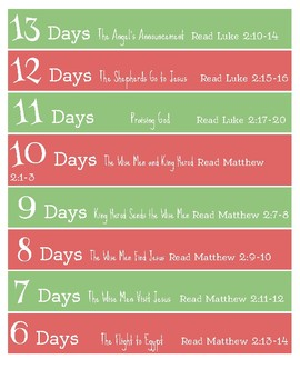 21 Day Advent Chain