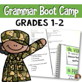 21 Day Grammar Boot Camp- Help Students MASTER Grammar GRADES 1 and 2