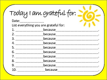 21 Days of Gratitude Downloadable Workbook for Children