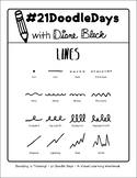 21 Doodle Days - Lesson 01: Lines