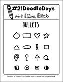 21 Doodle Days - Lesson 04: Bullets