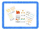 21 Down on the Farm themed preschool games and worksheets bundle.