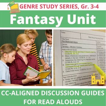 21 Fantasy Interactive Read Alouds--Folktales, Fairy Tales, Fables, Myths, MORE!