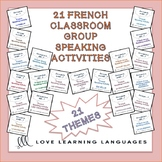 21 French Find Someone Who Activities BUNDLE: Est-ce que t