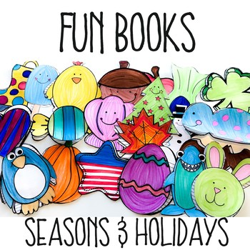 21 Fun Books for Seasons & Holidays- Fundraiser for a Children's Home