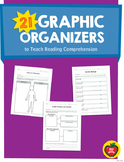 21 Graphic Organizers to Teach Reading Comprehension