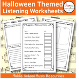 21 Halloween Listening Activities