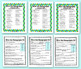 21 Homographs Activity Task Cards