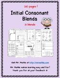 21 Initial Consonant Blends r blends, l blends, s blends, tw