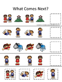21 Jack and Jill themed preschool games and worksheets bundle.