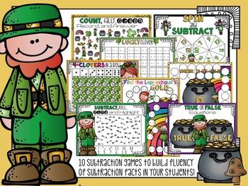 21 March Math Addition & Subtraction Fluency Station Fun