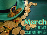 21 March Math Addition & Subtraction Fluency Station Fun