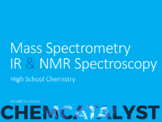 22. Mass Spectrometry, IR & NMR Spectroscopy