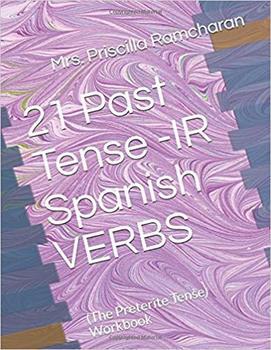 21 Past Tense -IR  Spanish VERBS