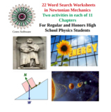 21 Physics Word Search Worksheets in pdf format