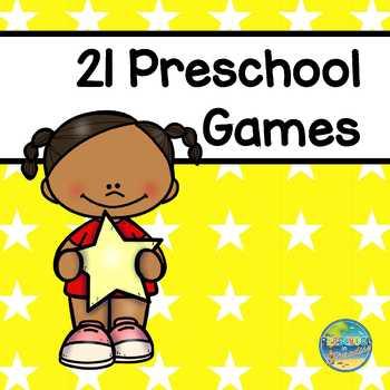 21 Preschool Games