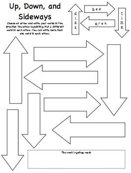 Spelling Activities - 21 different activities