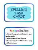 21 Spelling Task Cards Center