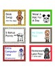 21 Star War Themed Reward Cards