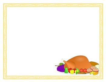 21 Thanksgiving/Autumn/November Borders and Frames!