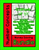 21 Unit Bundle - Number Concepts for the Focus Number