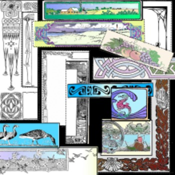18 clipart borders and frames