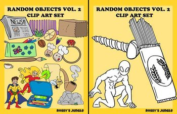 210 files: Random Objects Clip Art Vol 2