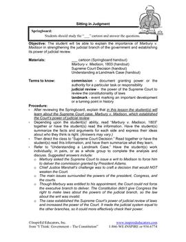 2103 Marbury v. Madison and Judicial Review