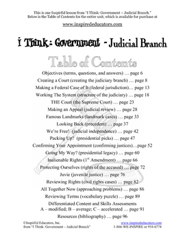 2106-1 Creating the Judicial Branch
