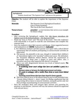 2106-4 Board of Education Vs. Earls