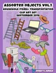 211 files: Assorted objects and transportation vehicles Clip Art set, Vol 1