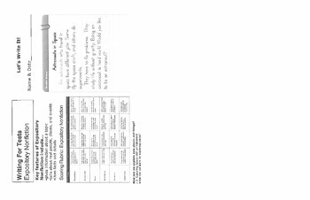 2.1.2 RS Weekly Work Packet, Second Grade, Reading Street
