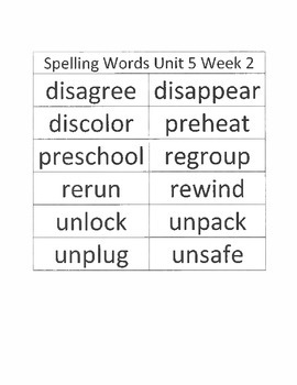 2.5.2 RS Weekly Work Packet, Second Grade, Reading Street