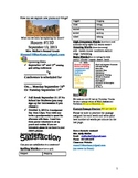 2.1.4 A Walk in the Desert Reading Street 2nd Grade Newsletter Unit 1 Week 4