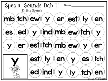 214 Special Sounds Worksheets Download. 1st-3rd Grade Phonics.  ZIP file.