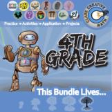 21st Century 4th Grade Curriculum + Free Lifetime Downloads