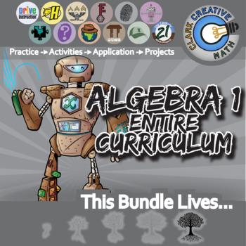 21st Century Algebra 1 -- the Entire Curriculum + Free Lifetime Downloads
