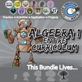 21st Century Algebra 1 Curriculum Bundle + Free Lifetime D