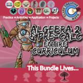 21st Century Algebra 2 / Pre-Calculus Curriculum + Free Downloads